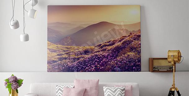 Obraz naturalny krajobraz górski