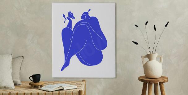 Obraz kubistyczna abstrakcja