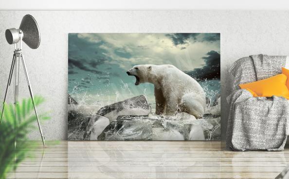 Obraz niedźwiedź polarny