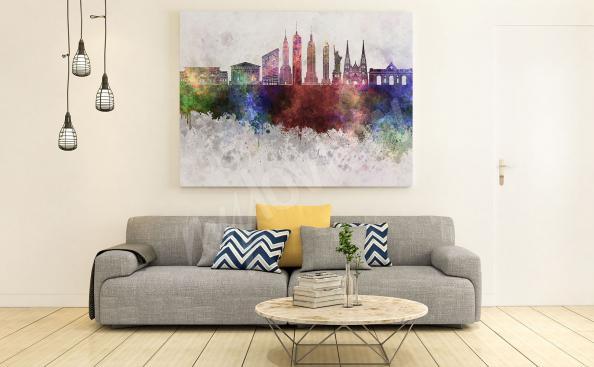 Obraz Nowy Jork kolorowa panorama