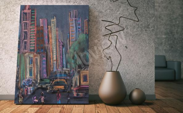 Obraz Nowy Jork Manhattan rysunek