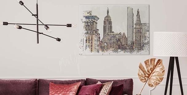 Obraz Nowy Jork malarstwo