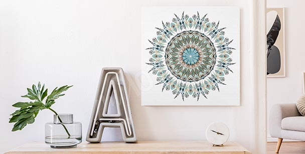 Obraz ornament i mandala