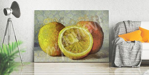 Obraz owoce malarstwo