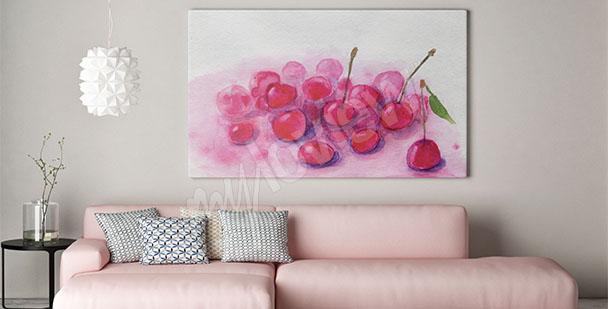 Obraz owoce wiśni