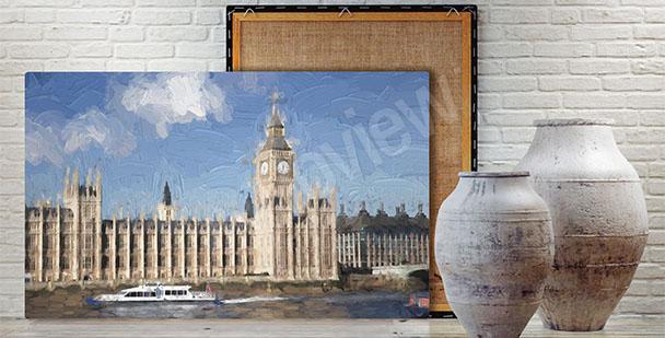 Obraz Pałac Westminster