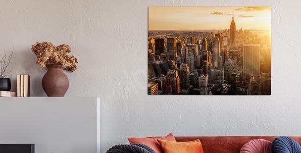 Obraz panorama metropolii
