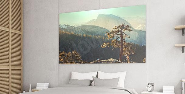Obraz panorama Yosemite