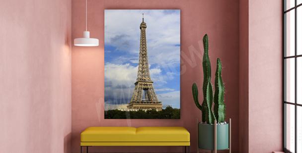 Obraz zabytki Paryża