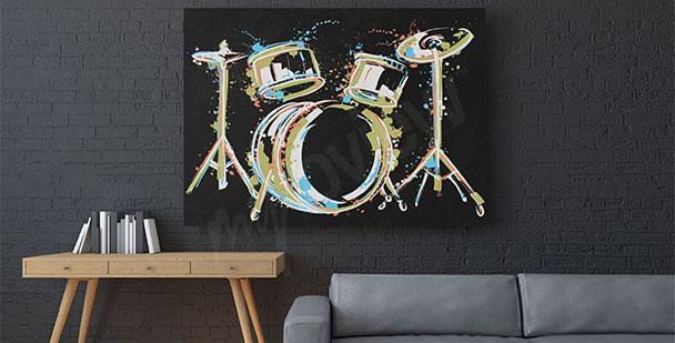 Obraz perkusja