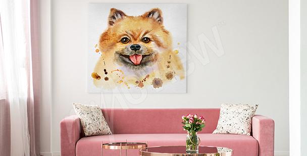 Obraz psy do pokoju młodzieżowego