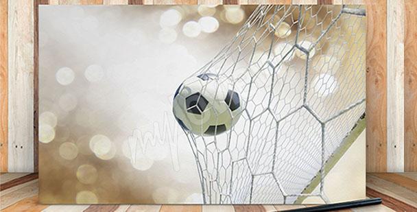 Obraz piłka nożna gol