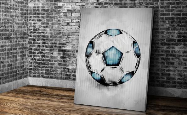 Obraz piłkarski do pokoju młodzieżowego