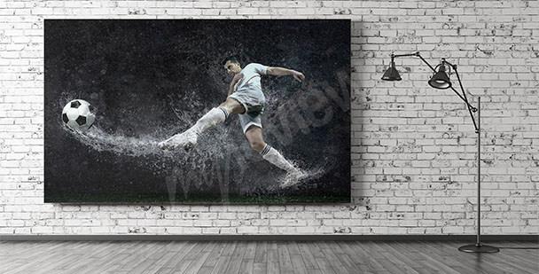 Obraz piłkarz do pokoju nastolatka