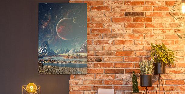 Obraz planety 3D