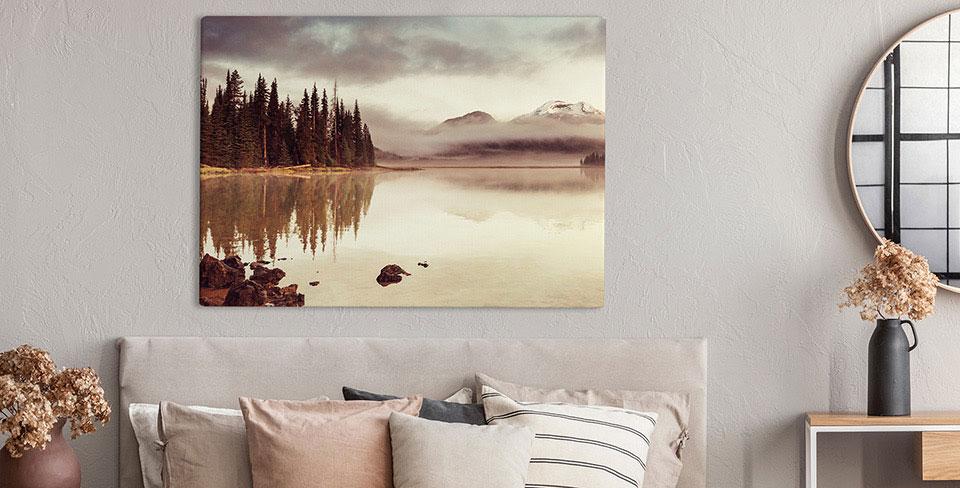 Obraz romantyczny krajobraz