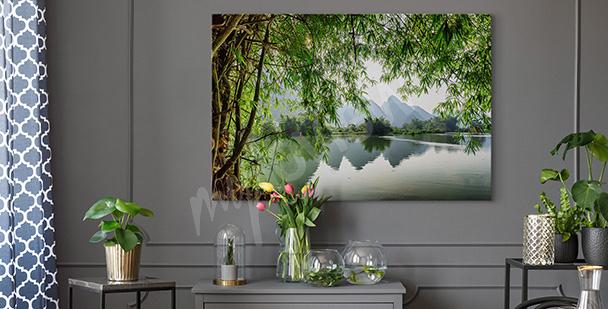 Obraz rzeka w Chinach