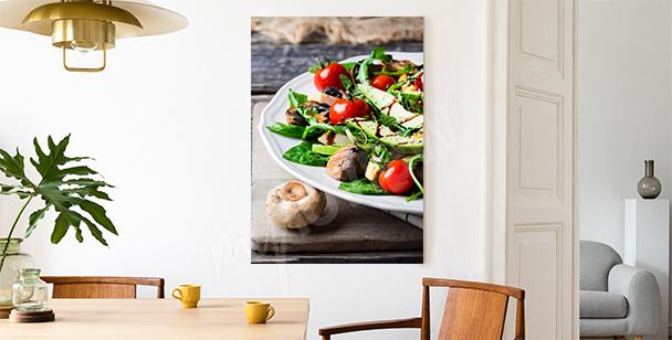 Obraz sałatka z awokado