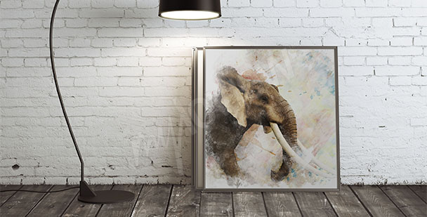 Obraz samiec słonia