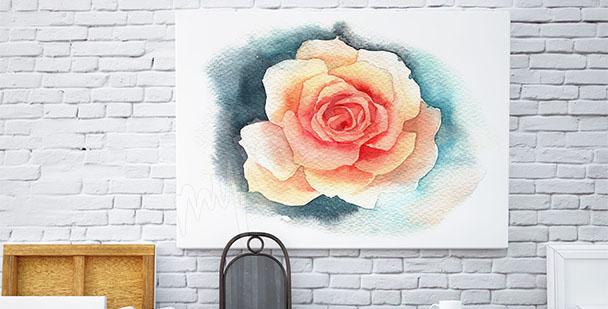 Obraz ścienny z kwiatem róży