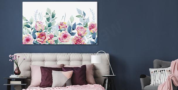 Obraz ścienny z różami