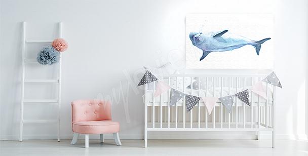 Obraz z delfinem dla dzieci