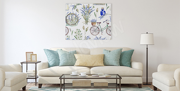 Obraz styl prowansalski do salonu