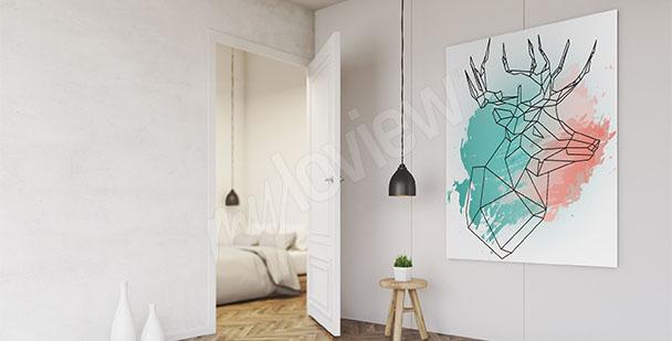 Obraz styl skandynawski minimalizm