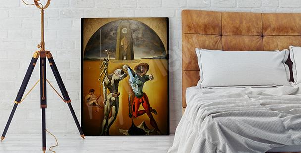 Obraz surrealistyczny do sypialni