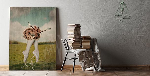 Obraz surrealizm do pokoju nastolatka