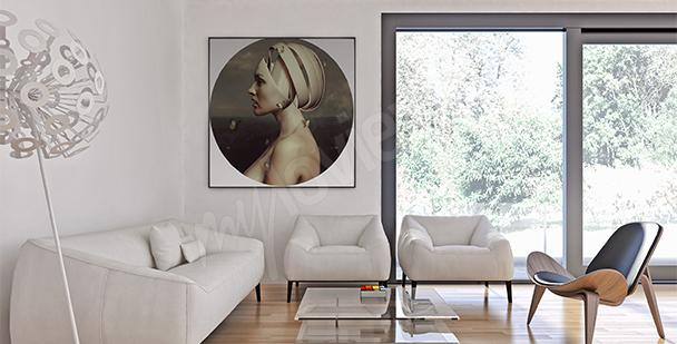 Obraz surrealizm kobieta