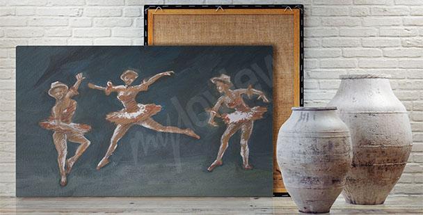 Obraz tańczące baletnice
