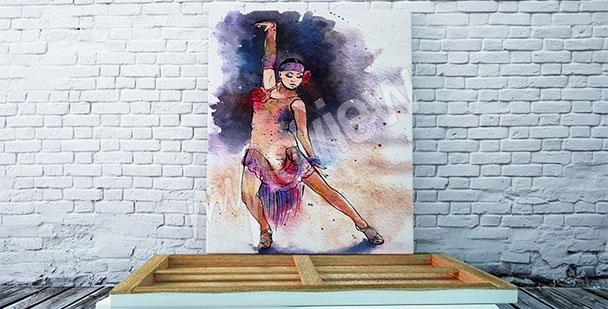 Obraz taniec latynoamerykański