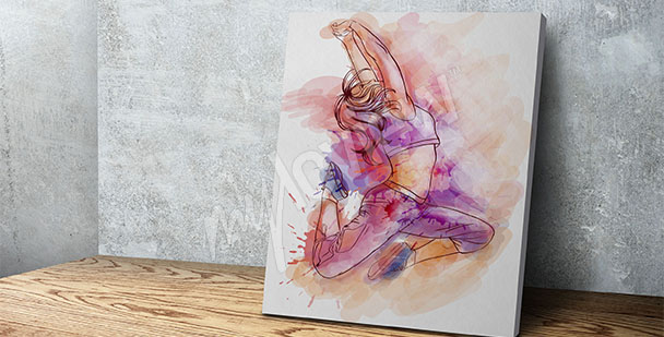 Obraz taniec współczesny