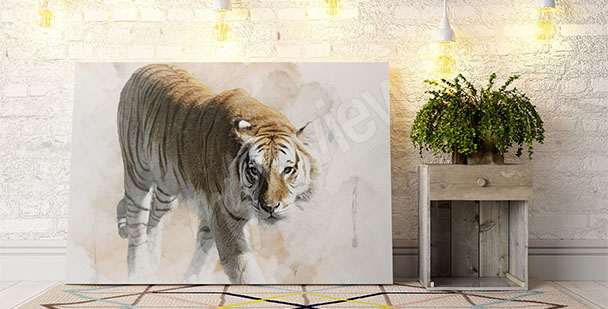 Obraz tygrys bengalski
