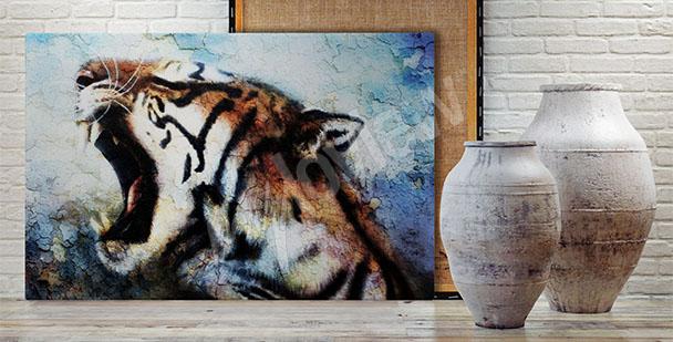 Obraz tygrys malarstwo
