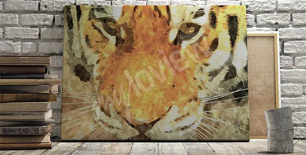 Obraz tygrys syberjski