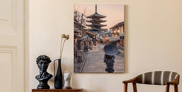 Obraz ulica Kyoto