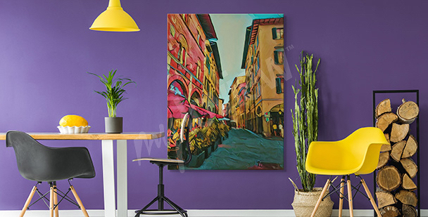 Obraz ulice Florencji
