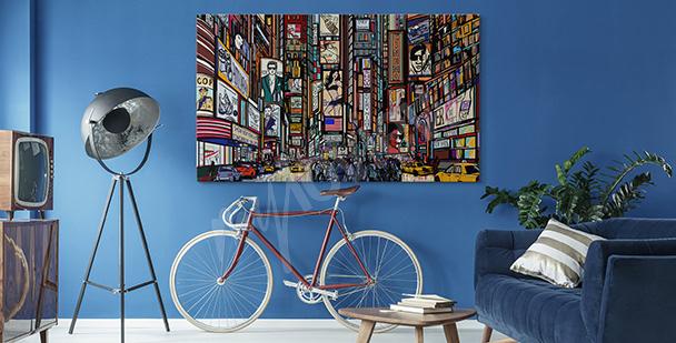 Obraz ulice Nowego Jorku