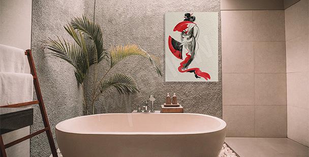 Obraz w stylu japońskim