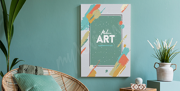 Obraz w stylu modern art