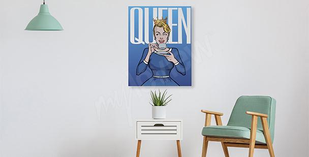 Obraz w stylu pop-art