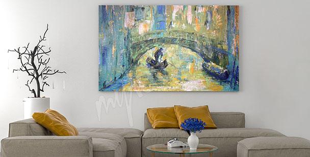 Obraz Wenecja kanał