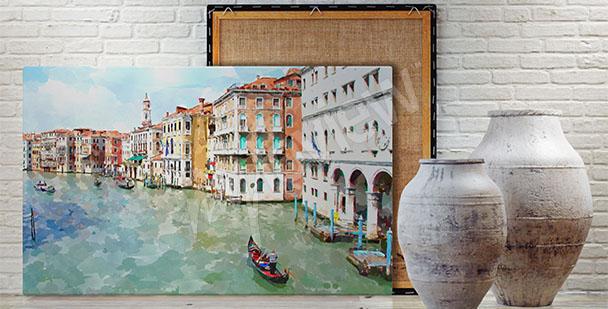 Obraz Wenecja panorama miasta