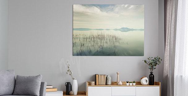 Obraz widok na jezioro Balaton