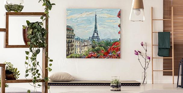 Obraz Paryż vintage