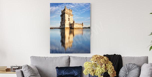 Obraz wieża Belem