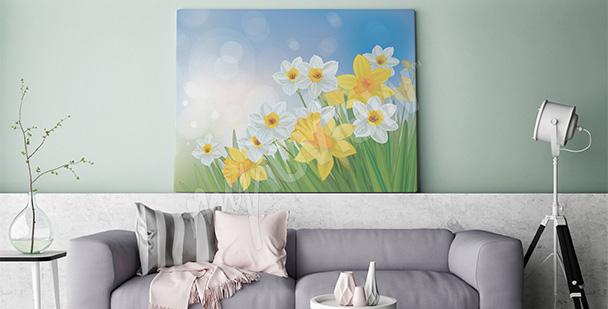 Obraz wiosenna łąka