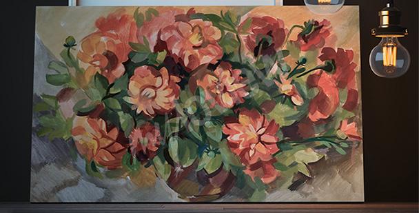 Obraz wiosenne kwiaty